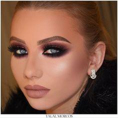 Winter hues   #talalmorcos #mua #makeup #2018 #workshop #egypt #soon #masterclass
