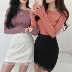 Amazon Outfits ⬇️♥ autumn girls inspire anime 2020 grunge wear kpop teens brunch classy 2020 aesthetic baddie clothes sport jeans woman girly soft ideas fall highschool everyday vsco ullzang winter anime vintage tiktok e-girl best indie cute denim everyday lux ullzang stylish skater aesthetic clothes woman outfit style girl teens thrift sporty indie baddie wear vsco summer tenage chic 90s skater best euphoria cute ideas college skinny Korean Fashion Dress, Kpop Fashion Outfits, Edgy Outfits, Korean Outfits, Cute Casual Outfits, Cute Fashion, Asian Fashion, Professional Outfits, Looks Cool
