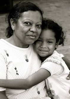 Mother and daugther from Caracas, Venezuela.