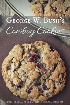 George W Bush Cowboy Cookies