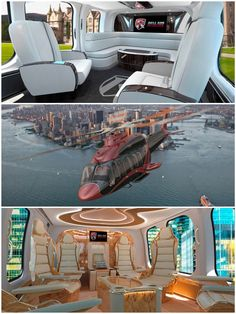 A State Of The Art Helicopter with the Amenities of a Private Jet.