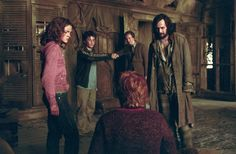 Hermoine Granger, Harry Potter, Ron Weasley, Sirius Black and Remus Lupin Saga Harry Potter, Harry Potter Movies, Harry Potter World, Albus Dumbledore, Lord Voldemort, Remus Lupin, Ron Weasley, Hermione Granger, Ravenclaw