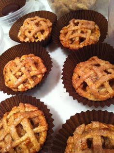 Caterers report that pies filled with seasonal fruit are becoming a popular dessert item at events. These latticed fruit pies are by Tip of... Photo: Courtesy of Tip of the Tongue Catering