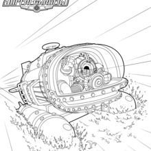 Skylanders SuperChargers Coloring Pages