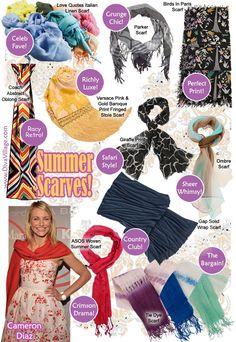 Summer scarves!