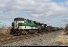 RailPictures.Net Photo: NS 8099 Norfolk Southern GE ES44AC at Clay Center, Ohio by Michael Harding