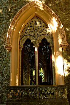 Monserrate Palace Window  Monserrate, Sintra, Portugal
