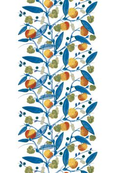Paratiisi wallpaper mural by Marimekko- - this sort of reminds me of  the Garden of Eden . . .