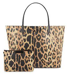 GIVENCHY Leopard-print shopper bag (Multi colour