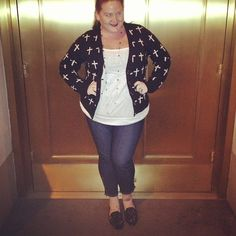 OOTD: Crosses, Studs & a Night on Broadway. #littlelimedress #style #fashion #plussize #thejuicer #lldstyle #ootd