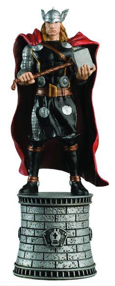 Eaglemoss Marvel Comics Chess Thor Figurine