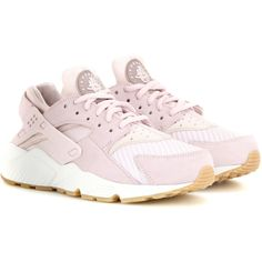 Nike Nike Air Huarache Run Txt Sneakers (€120) ❤ liked on Polyvore featuring shoes, nike, nike shoes, lavender shoes and nike footwear