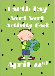 Earth Day Word Wall Word Work Pack
