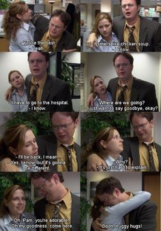 #theoffice One of my favorite moments in the Office :) So so sweet!!
