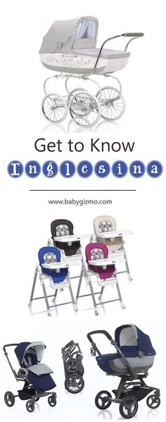 Having a baby?! Get to know Inglesina and their luxury line of baby gear! They have the best strollers and functional high chairs! #baby #babyregistry #babygizmo