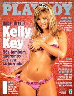 kelly key nua pelada na Playboy