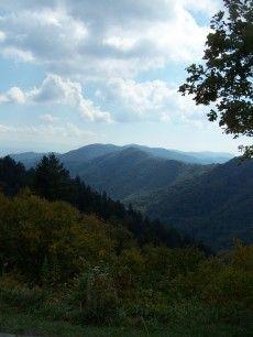 Great Smoky Mountains of Gatlinburg, TN!