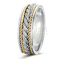 Attractive Handcrafted Wedding Ring