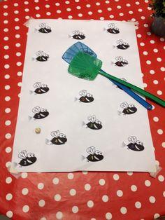 Vliegenmepperspel: sla op het gerolde cijfer Insect Crafts, Frog Crafts, Diy Crafts, Math Games, Preschool Activities, Outdoor Education, Classroom Projects, Early Childhood Education, Kindergarten