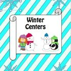 Here is a set of different winter math centers I created for my students.  You can use all of these at once or can pick and choose which ones and w...