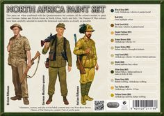 Risultati immagini per vallejo painting guide British Uniforms, Ww2 Uniforms, German Uniforms, Military Figures, Military Diorama, Military Paint, Paint Charts, German Soldiers Ww2, Italian Army