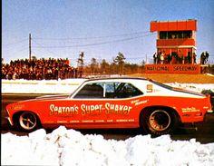 Vintage Drag Racing - Funny Car - Snow!