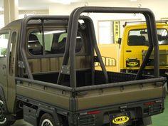 Hijet Jumbo Carstall Double Tube Roll Bar 2pcs Installed Image Small Trucks, Mini Trucks, Suzuki Carry, Adventure Car, Utility Truck, Cool Vans, Custom Cars, Cars And Motorcycles, Vehicles