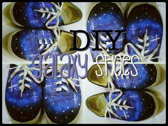 DIY Galaxy Shoes Diy Galaxy Shoes, Creative Crafts, Fun, Fashion, Moda, Fashion Styles, Crafts, Fashion Illustrations, Hilarious