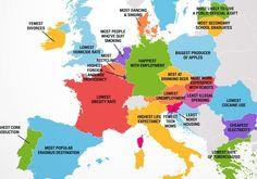 V čom sú krajiny Európy najlepšie? Slovensko prekvapilo | Finweb.sk