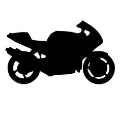 For your consideration is a die-cut vinyl Motorcycle decal available in multiple sizes and colors. Vinyl decals will stick to any smooth clean surface including glass, walls, laptops, phones, cars, an