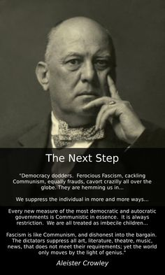 qoutes from Aleister Crowley, the founder of Thelema and the New Aeon Illuminati, Magick Book, Witchcraft, Wiccan, Religion, Aleister Crowley, Truth Hurts, Book Projects, Deep Thoughts