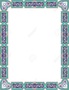 23185793-Islamic-style-border-frame-with-elegant-vector-lines-Stock-Vector.jpg (995×1300)