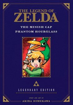 The Legend of Zelda: The Minish Cap / Phantom Hourglass -Legendary Edition - cover art, synopsis