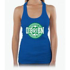O'brien Irish Drinking Team Womens Tank Top