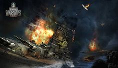 Naval MMO World of Warships has surfaced with a new set of screenshots and renders, proving MMOs can still be a very pretty affair.