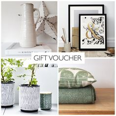 Gift voucher at Housekeeping Store