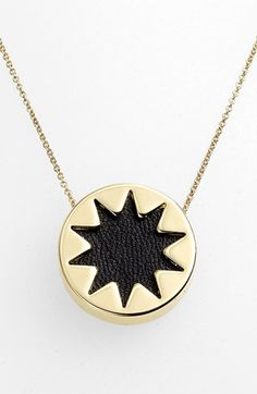 House of Harlow 1960 Mini Sunburst Pendant Necklace available at #Nordstrom