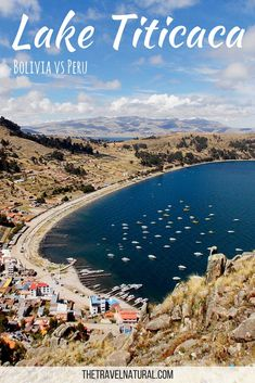 Want to see Lake Titicaca in South America but are unsure of which side of the lake to visit - Peru or Bolivia? This guide to Lake Titicaca should help! #travelsouthamerica