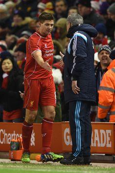 Steven Gerrard Photos: Liverpool v Chelsea