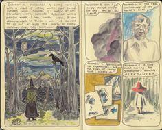Moleskine Sketchbook Diary.  Copyright 2014 Nicky Nargesian