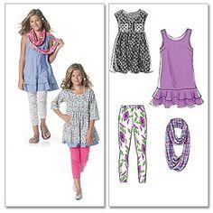 Plus Dresses, Dresses For Teens, Little Girl Dresses, Girls Dresses, Sewing Patterns For Kids, Clothing Patterns, Tween Fashion, Diy Fashion, Girls Tunics
