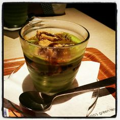 Green tea time