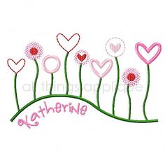 Hey, I found this really awesome Etsy listing at http://www.etsy.com/listing/120379979/field-of-heart-flowers-valentine