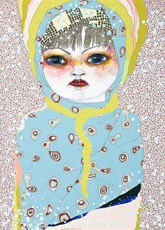 Del Kathryn Barton - Australian artist and winner of Archibald Portrait Prize