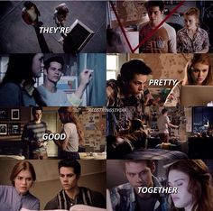 Stiles and Lydia 💗 Teen Wolf Stydia, Teen Wolf Dylan, Teen Wolf Stiles, Teen Wolf Cast, Dylan O'brien, Best Tv Shows, Best Shows Ever, Favorite Tv Shows, Malia Tate