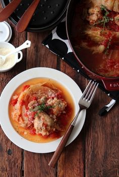 キャベツと鶏手羽元のトマト煮込み。 by 栁川かおり   レシピサイト ...
