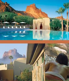 Sanctuary Spa at Camelback Mountain Resort and Spa in Paradise Valley, Arizona