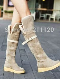 Latest Designs Of Winter Shoes For Western Girls 2015 - Boots For Winter
