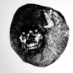 Grady Gordon's Ghoulish Monotype Prints | Beautiful/Decay Artist & Design