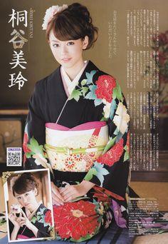 日本女孩 - [B.L.T] 2012 No.02 AKB48 NMB48 Top7和服